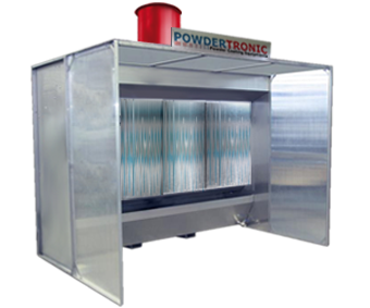 Powdertronic liquid powder coating systems cabinas de - Como construir una cortina de agua ...